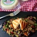 Σαλάτα με φακές, λούζα Μυκόνου και τυρί Κατσικάκι Μαστέλο®