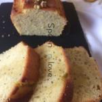 Kέικ με λεμόνι και παπαρουνόσπορο